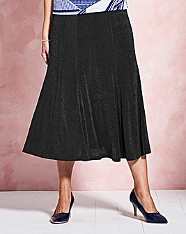 Plain Slinky Skirt Length 32in