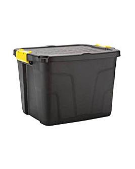 42L Heavy Duty Plastic Storage Box & Lid