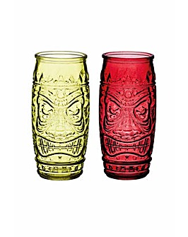 Barcraft Tiki Glasses set