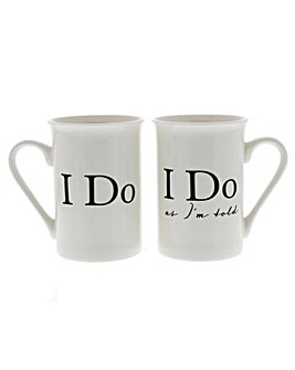 Amore Set of Two Mugs