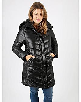 Lovedrobe Wet Look Jacket