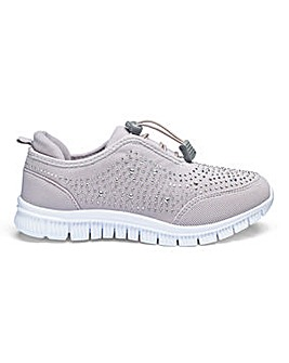 Cushion Walk Leisure Shoes EEE Fit