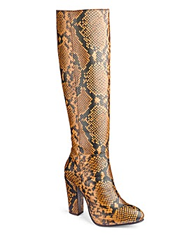 Heavenly Soles Knee High Boots E Fit