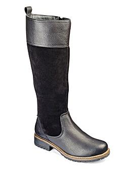 Heavenly Soles Boots E Fit Curvy Calf