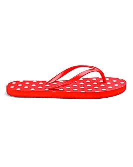 Heavenly Soles Flip Flops E Fit