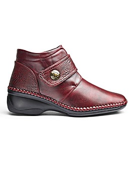 Cushion Walk Ankle Boots D Fit
