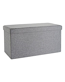 Fabric Folding Storage Seat Rectangle