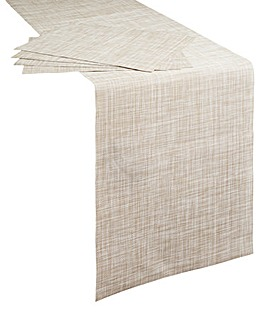 Table Runner & Mats 5pc Set