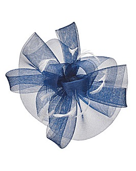 Joanna Hope Navy/Ivory Comb Fascinator