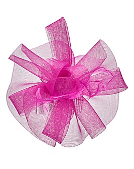Joanna Hope Fuchsia Comb Fascinator