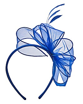 Cobalt Headband Fascinator