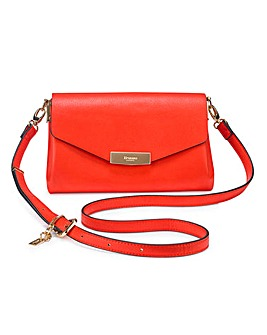 Dune Red Exie Evening Bag