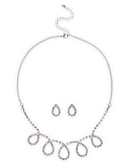 Cupchain Swirl Necklace