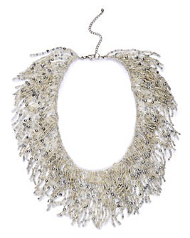 Statement Frazzle Necklace