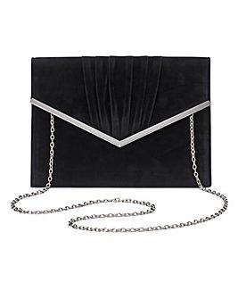 Sophie Black Clutch Bag