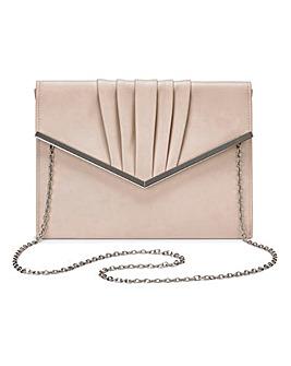Sophie Nude Clutch Bag