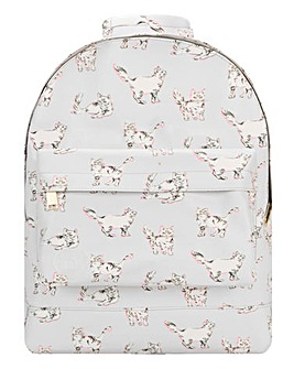 CAT PRINT MINI BACKPACK