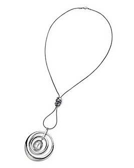 Facet In Ring Necklace