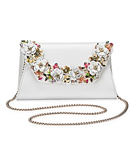 Bathilda Floral Embellished Clutch