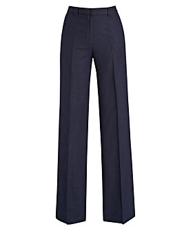Petite Joanna Hope Linen-Blend Trousers