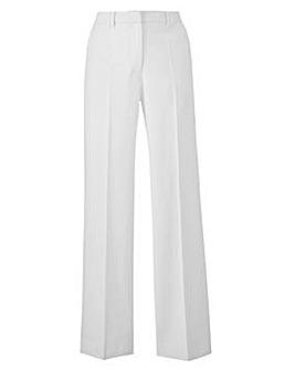 Petite Joanna Hope Linen-Blend Trousers