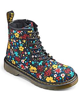Dr Martens Delaney Lace Boots Floral