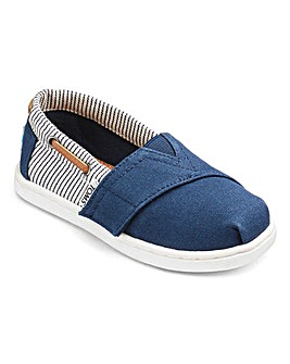 Toms Bimini Tiny Canvas Espadrille
