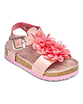 3D Floral Sandals
