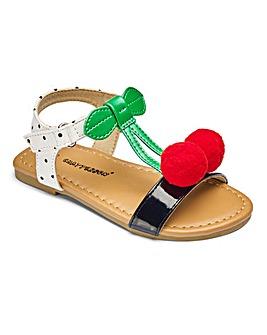Girls Cherry Sandals