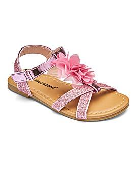 Girls Floral Sandals