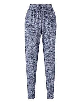 Space Dye Tapered Leg Joggers