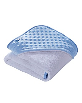 Clair de Lune Dimple Hooded Towel