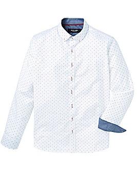 Black Label LS Print Shirt Long