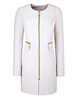 Zip Detail Coat