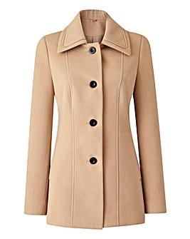 Short Collared Coat