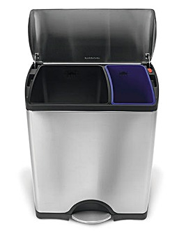 Simplehuman Rectangular Recycler Bin 46L