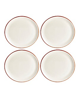 Jantar Terracotta Side Plates Set of 4