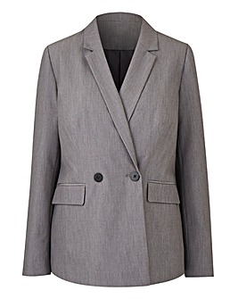 Tailored Longline Blazer Petite