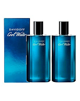 Cool Water 75ml Aftershave BOGOF