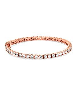 Simply Silver Tennis Bracelet