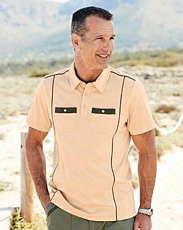Premier Man Tailored Collar Polo Shirt