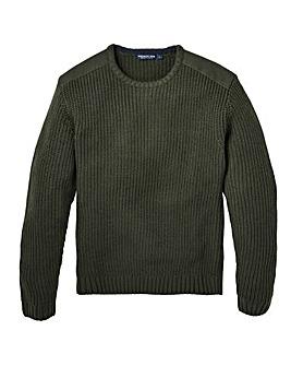 Premier Man Fishermans Knit Jumper