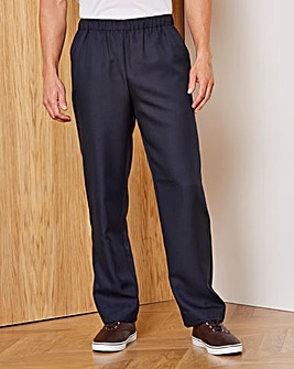 Premier Man Elasticated Trousers 29in