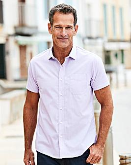 Premier Man Lilac Stain Resistant Shirt