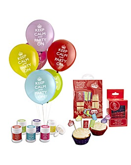 Keep Calm Party Accessory Pack