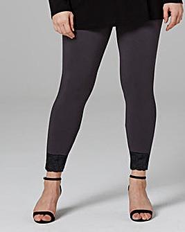 Lace Hem Leggings