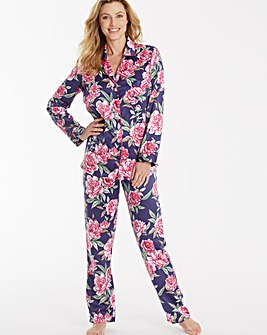 Pretty Secrets Printed Satin Pyjama Set
