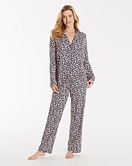 Pretty Secrets Printed Viscose Pyjamas
