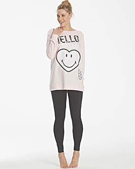 Smiley World Loungewear Legging Set