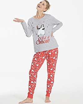 Coca Cola Penguin Pyjama Set